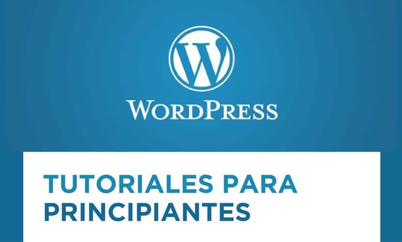 Tutoriales WordPress para principiantes