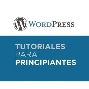 Tutoriales de Wordpress para principiantes