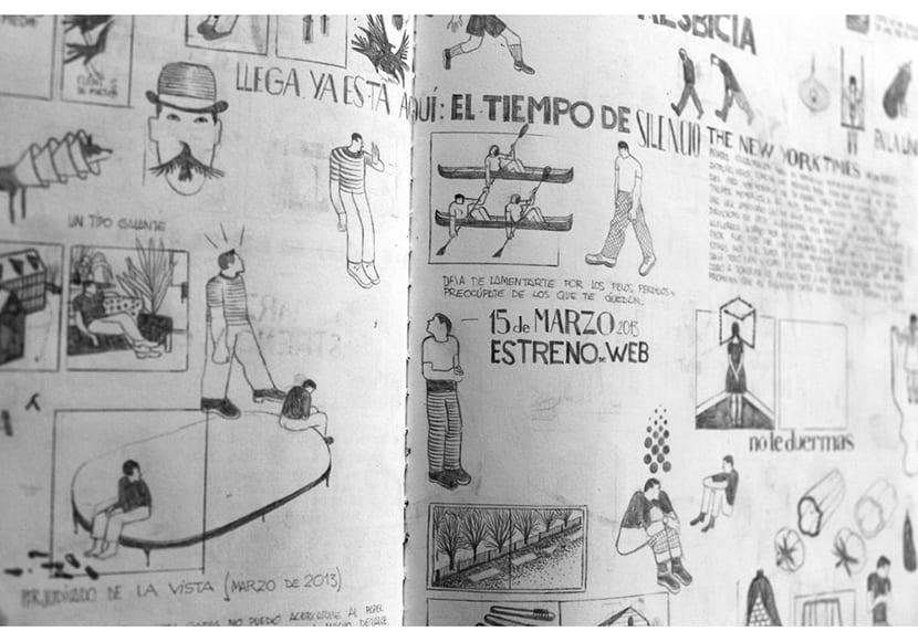 Bocetos Ilustraciones Pablo Amargo