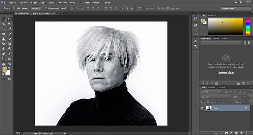 Efecto colorido al estilo Andy Warhol con Photoshop