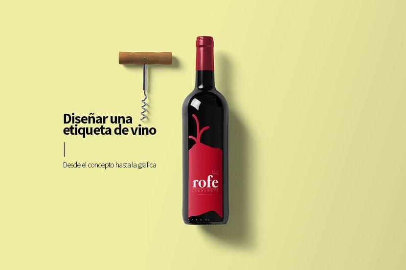 Aprende a diseña una etiqueta de vino