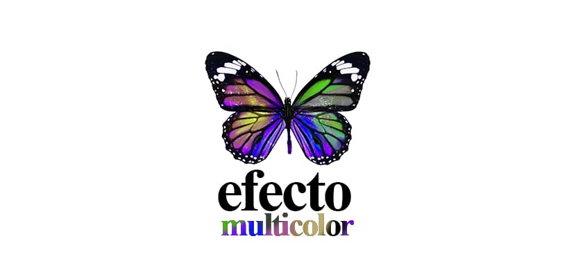 Efecto multicolor con Photoshop