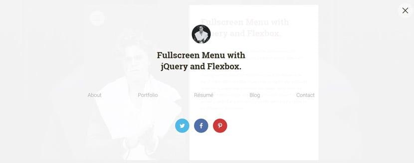 Fullscreen Flexbox jQuery