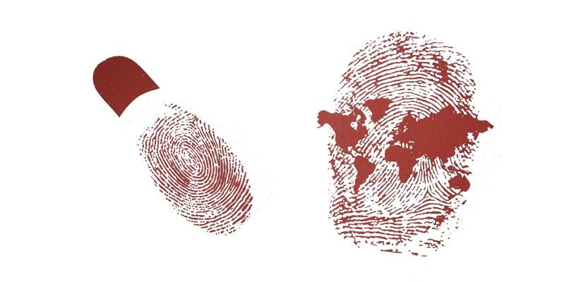 la identidad de las personas reflejadas en gráficas