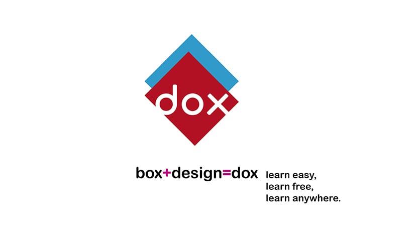 Dox un logotipo con un buen concepto