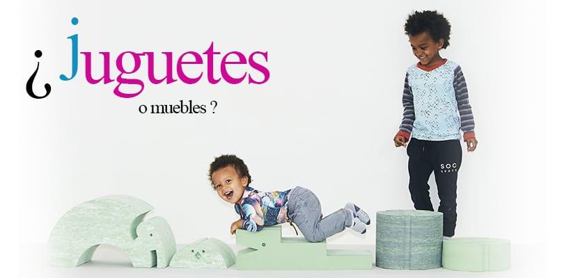 muebles convertidos en juguetes