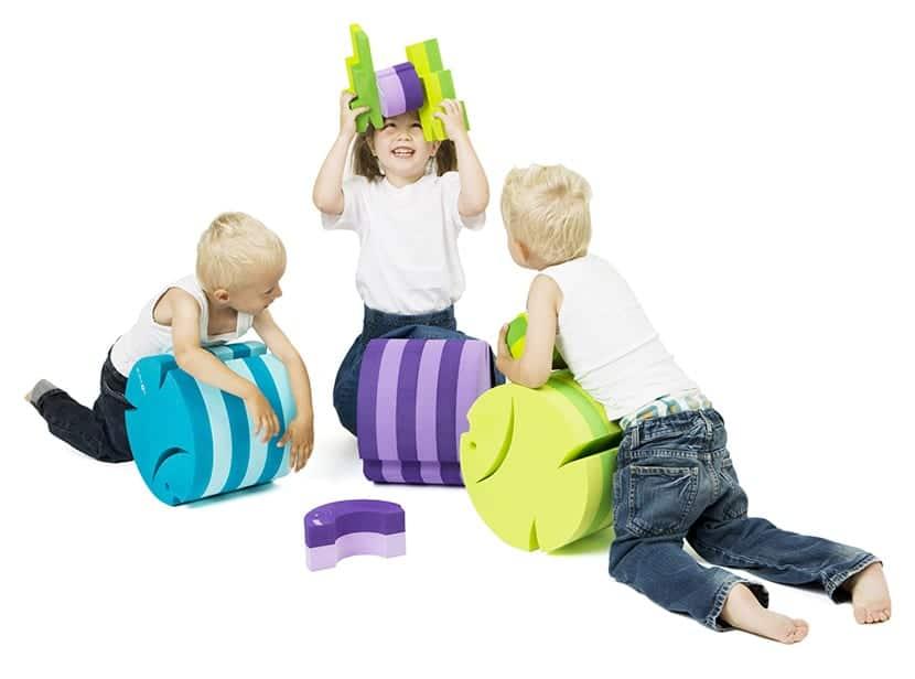 los muebles pueden ser juguetes cuando los destinatarios son niños