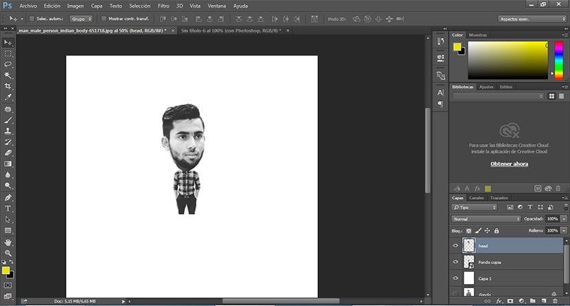Divertido Efecto Con Photoshop Para Crear Cabezones Creativos Online