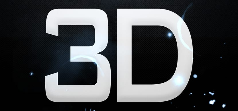 Efectos de texto 3D