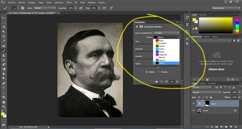 Aprende a corregir los colores de forma específica