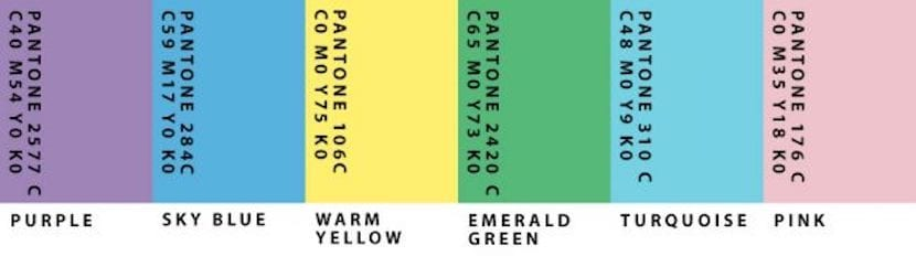 Grupo 1 de colores