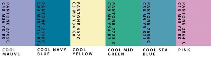 Grupo 2 de colores