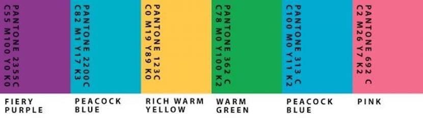 Grupo 3 de colores