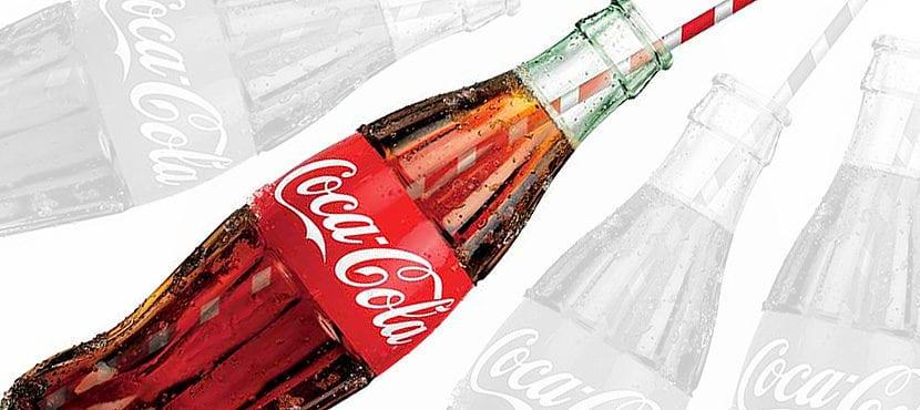cocacola botella envase icono