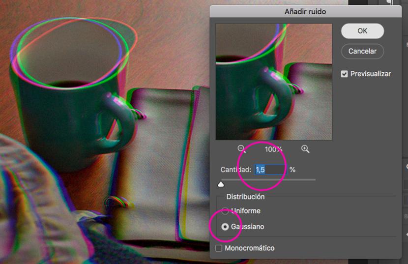 glitch efecto photoshop tutorial