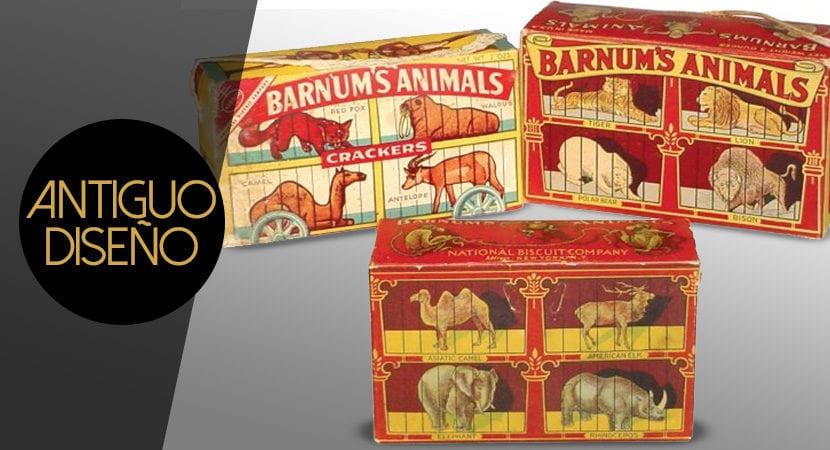 empaque packaging caja galletas barnums animals peta valores freedom