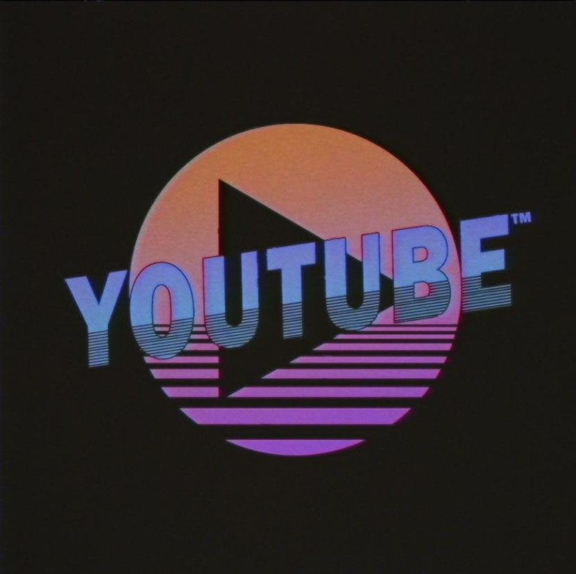 logos retro 80 youtube