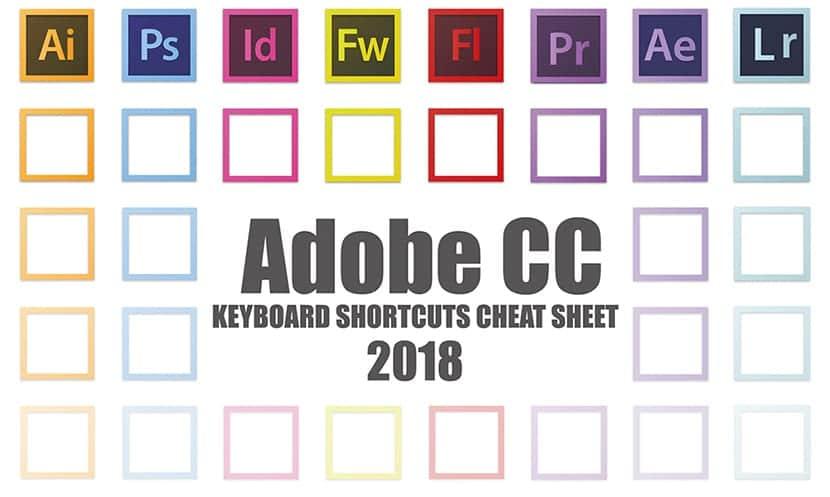 Atajos de teclado de Adobe