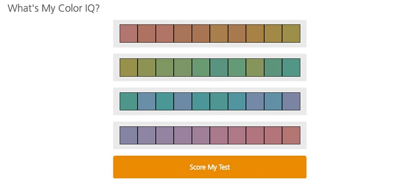 Color IQ Test