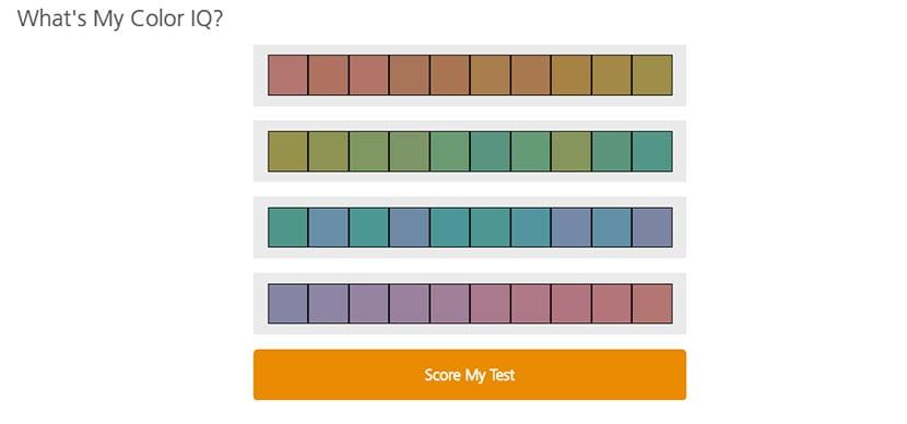 Color IQ Test