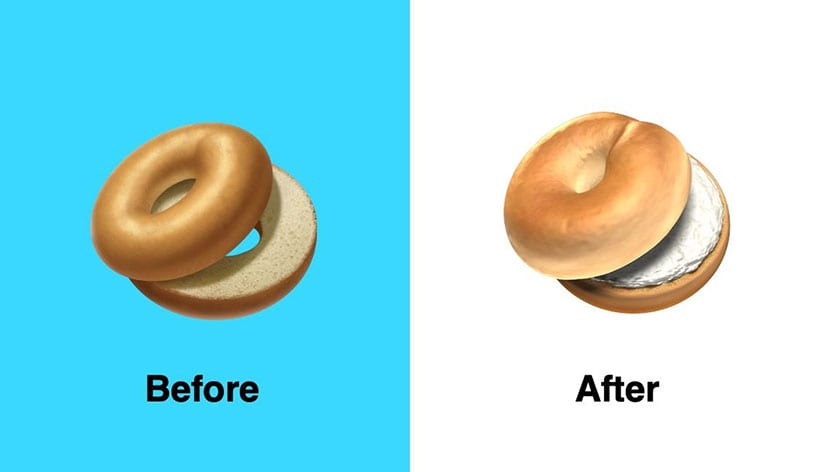Emoji bagel