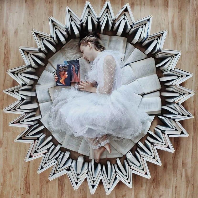 Enamorada de la lectura