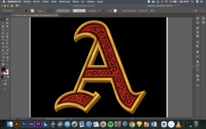 Crear profundidad en Illustrator