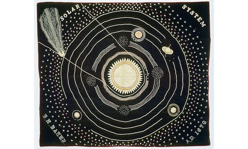 Bordado de Astronomía