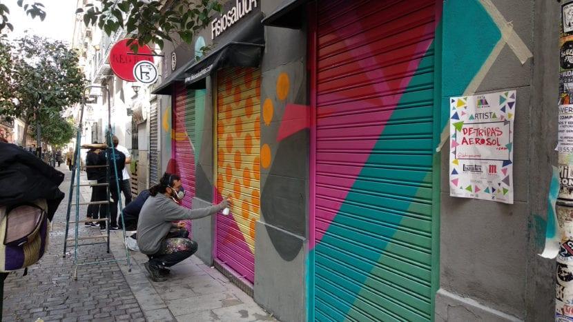 madrid street art project