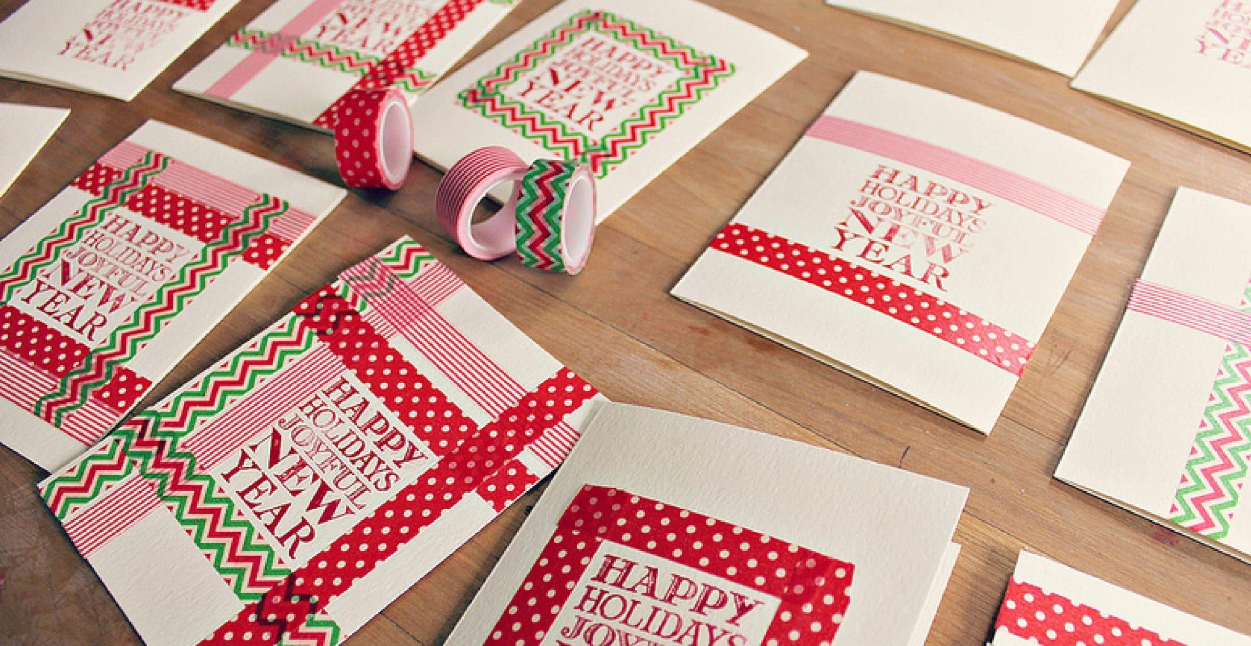 postales washi tape