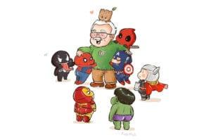 Sus héroes