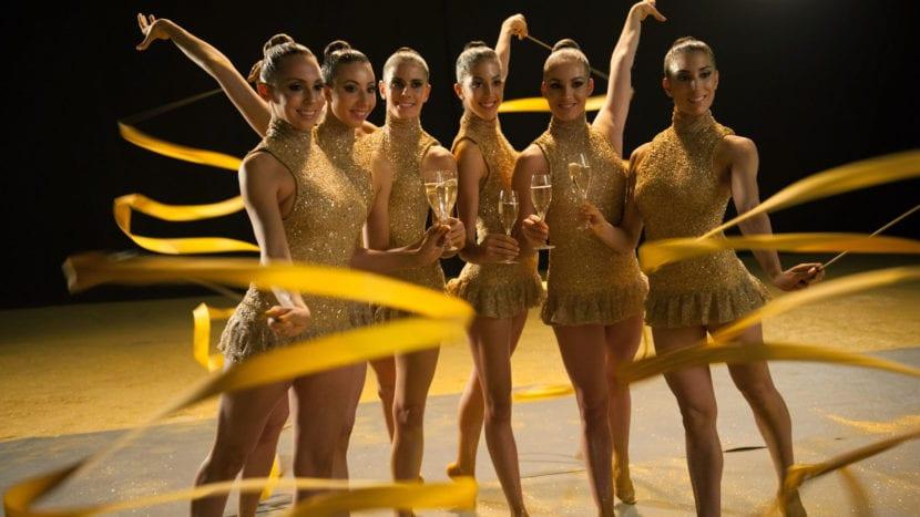 Equipo gimnastas