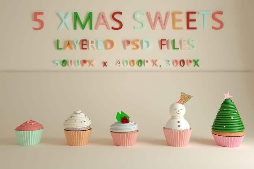 Muffins de Navidad