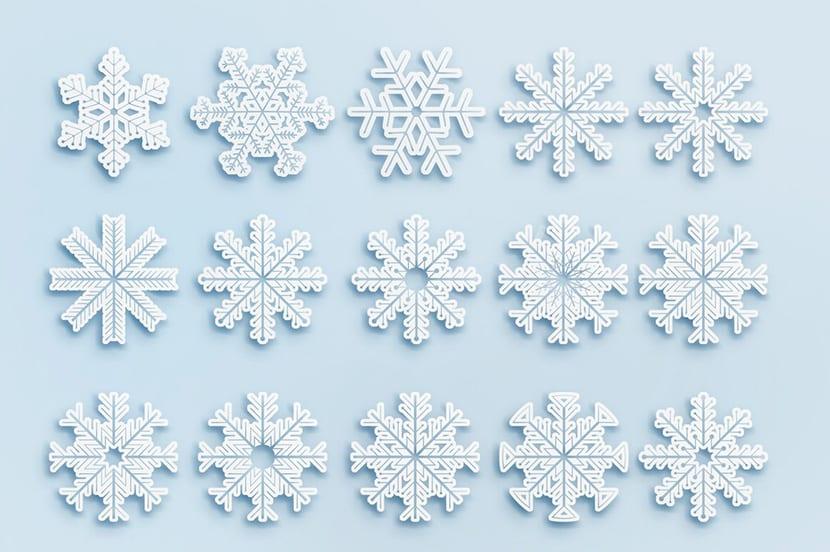 Nieve blancos