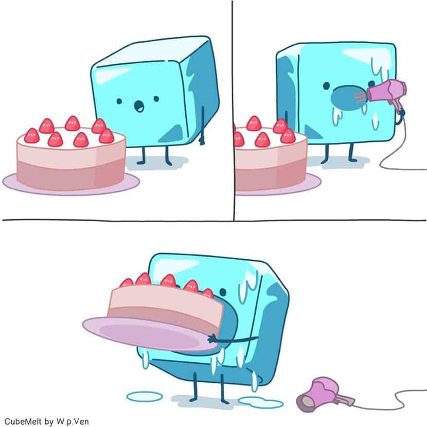 Cómic de CubeMet