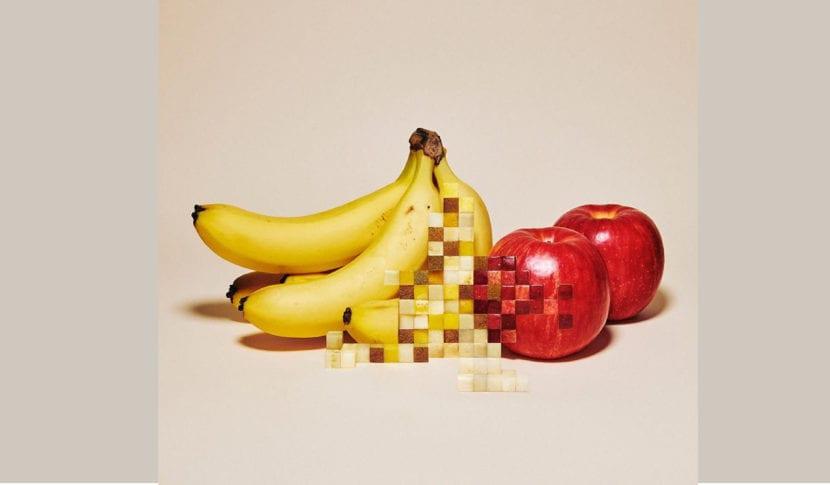 fruta pixeles