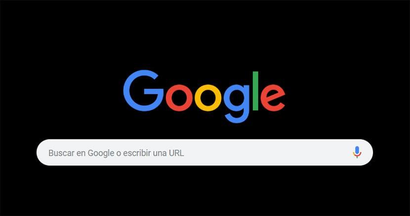 Google oscuro