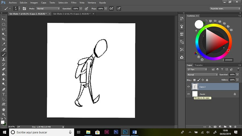 Paso 1. Dibujo