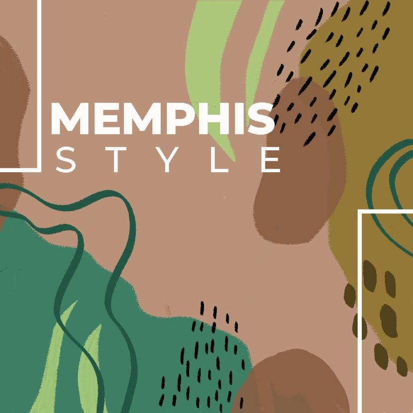 Tipografìa de diseño Memphis