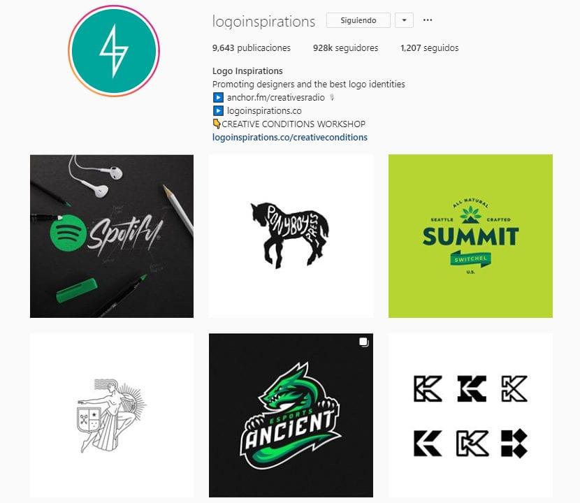 Perfil de instagram logo inspiration