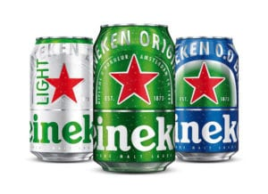 Packaging de Heineken