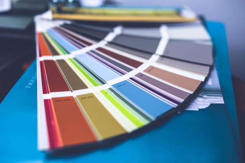 Pantone paleta de colores