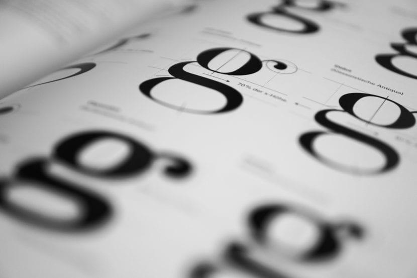 Caracteres de tipografías
