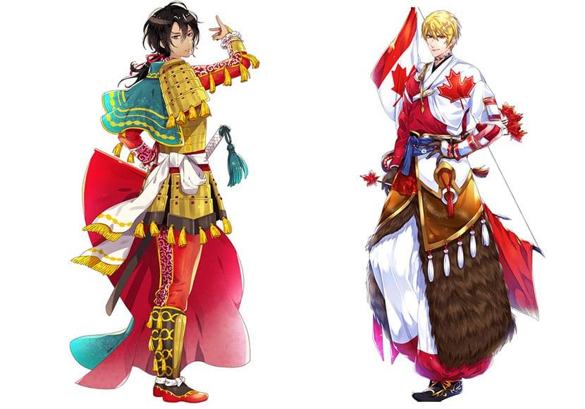 España y Canadá