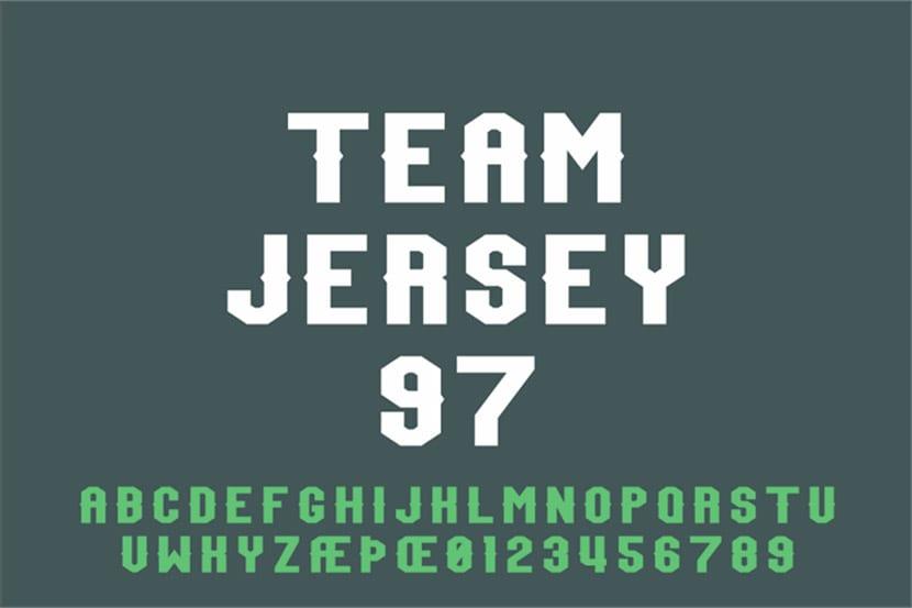 Team Jersey 97