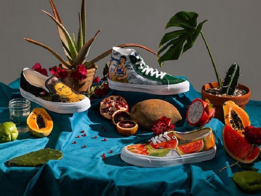 Estas son las Vans inspiradas en la pintora mexicana Frida Kahlo