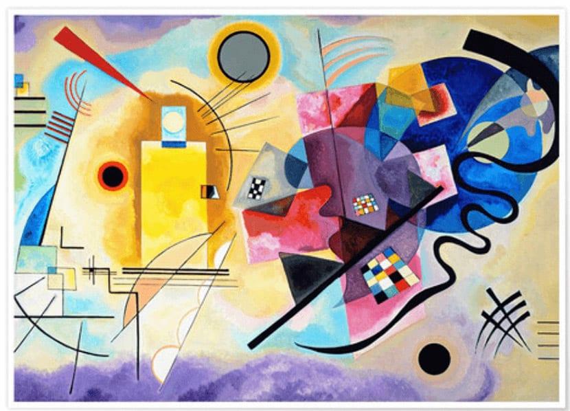 Cuadro de Kandinsky