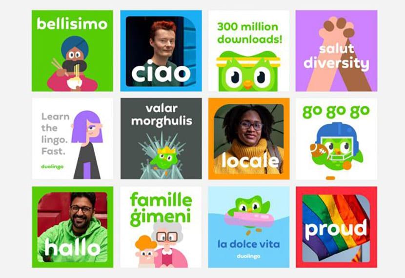 Duolingo infografía
