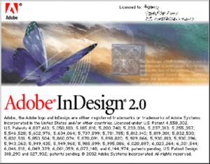 InDesign 2.0