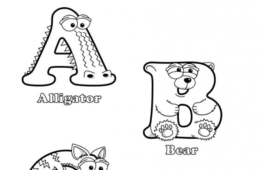 Letras de animales